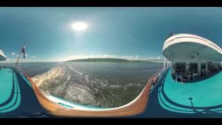 """Теплоход """"Достоевский"""". Панорамное видео. 360 градусов"""
