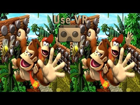 VR Donkey Kong Country For VR System