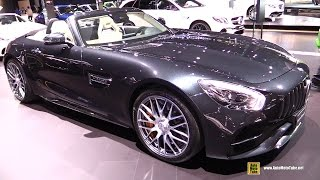 2018 Mercedes AMG GT-C Roadster - Exterior and Interior Walkaround - 2017 New York Auto Show