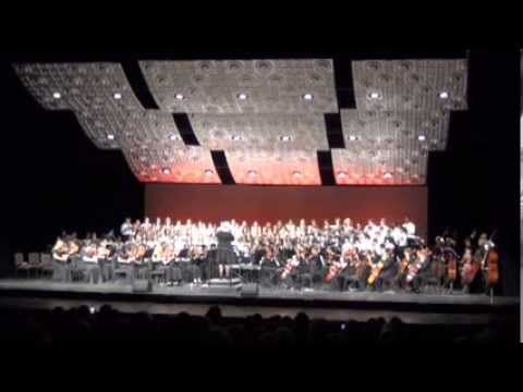 """2013 BGHS Choir & Orchestra Performs:""""Gloria in Excelsis"""""""