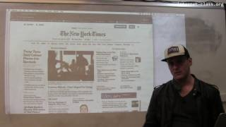 How has the internet changed the newspaper industry?