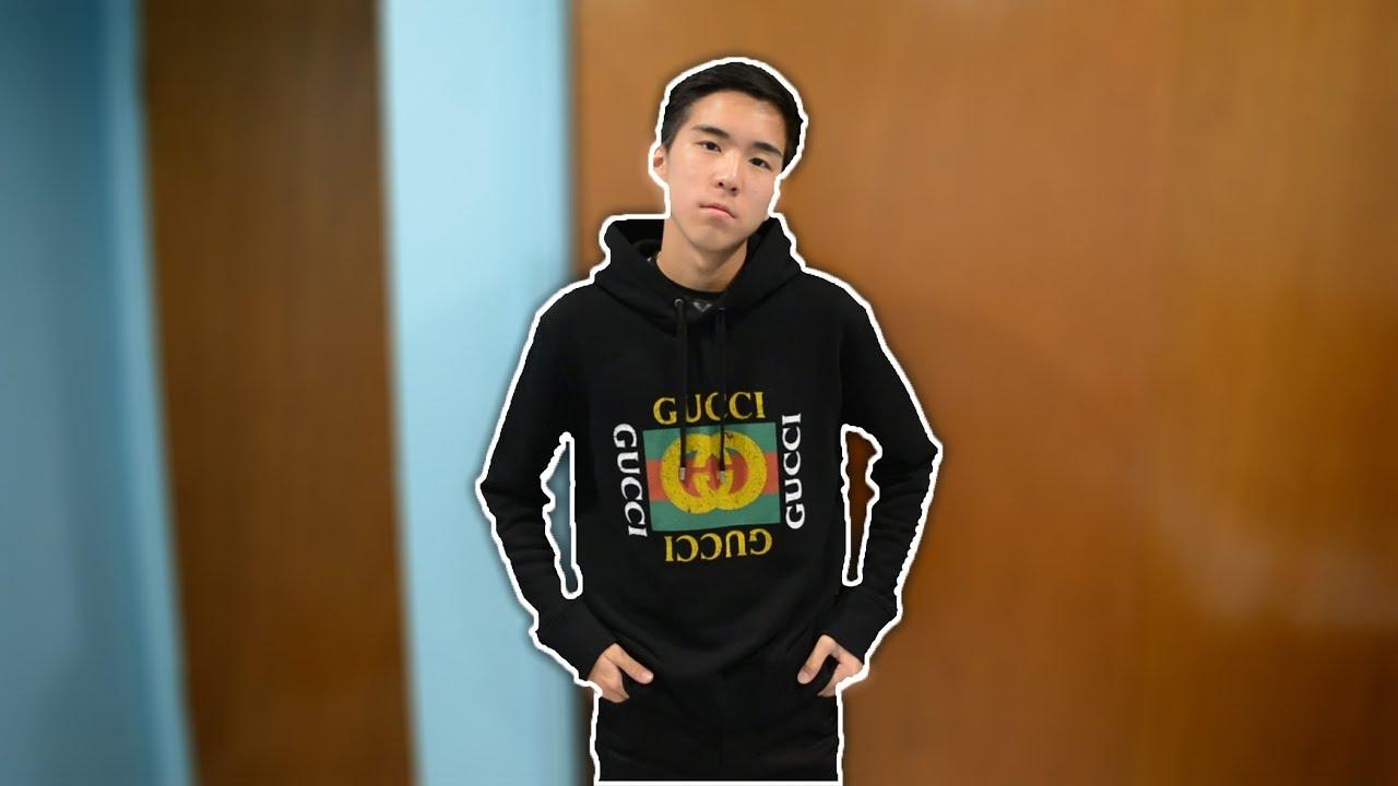 b1b22b7ebae Gucci Sweatshirt Review - YouTube