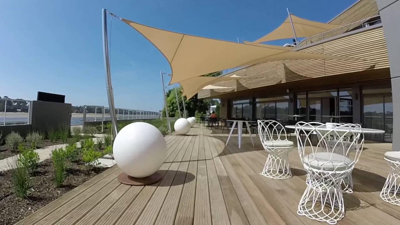 Nouvel h tel la villa seren hossegor landes 40 youtube for Appart hotel hossegor