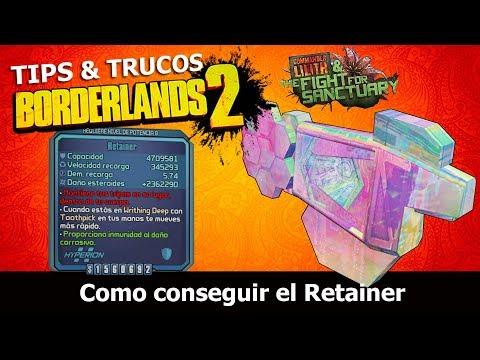 Borderlands 2 | Remastered | Tips & Trucos | Como conseguir el Retainer