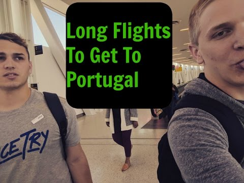Day 1 Getting Ready For lisbon Portugal Long Flights