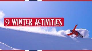 9 WINTER  ACTIVITIES