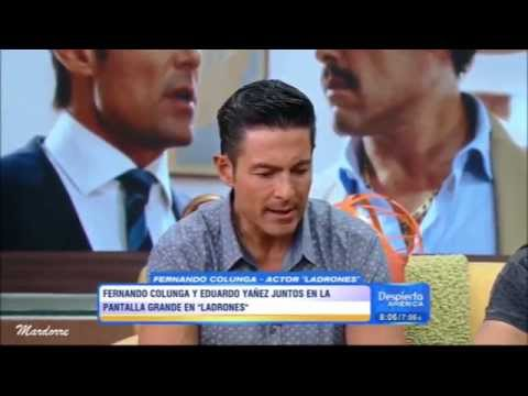 "Fernando Colunga y Eduardo  Yáñez en "" Despierta  América """