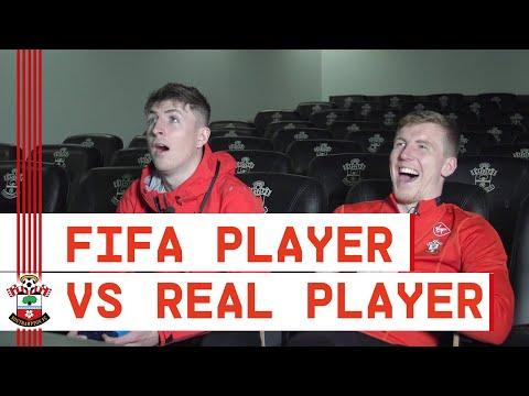 FIFA PRO vs FOOTBALL PRO | Rusher takes on ex-Southampton Academy team-mate Matt Targett! ????
