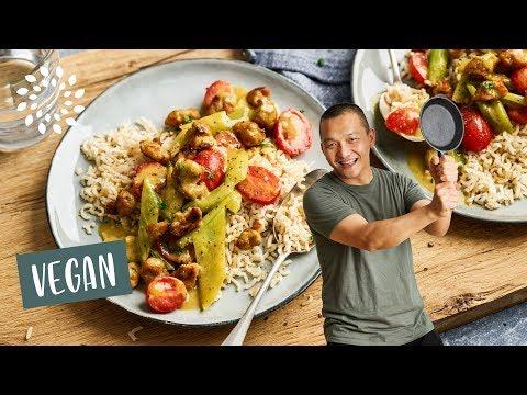 Curry mit Stangensellerie