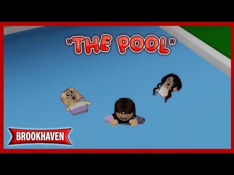 """The Pool"" - Brookhaven Mini Movie RP // Hxyila♡"