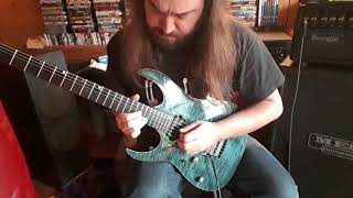 The Best of Times - Dream Theater - Guitar Solo Cover - Daniel Defreitas