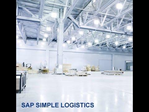 SAP Simple logistics training | SAP Simple logistics online ...