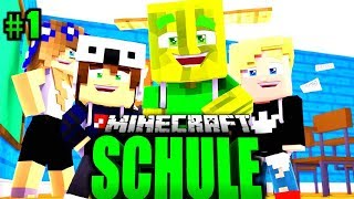Mein 1. SCHULTAG BEGINNT?! - Minecraft SCHULE #01 [Deutsch/HD]