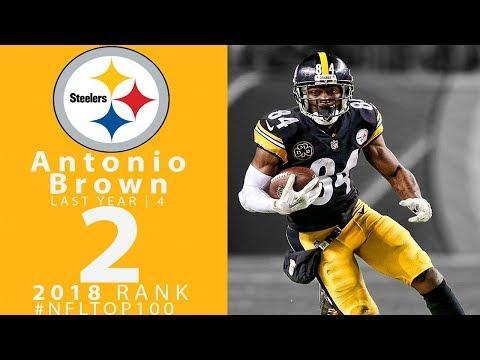 #2: Antonio Brown (WR, Steelers) | Top 100 Players of 2018 | NFL