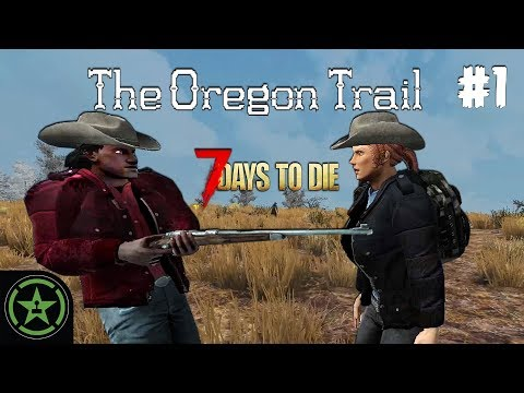 Oregon Trail #1 - Guns, Bikes, and the Open Road (7 Days to Die)