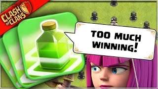 Really..? TOO MUCH WINNING in Clash of Clans!