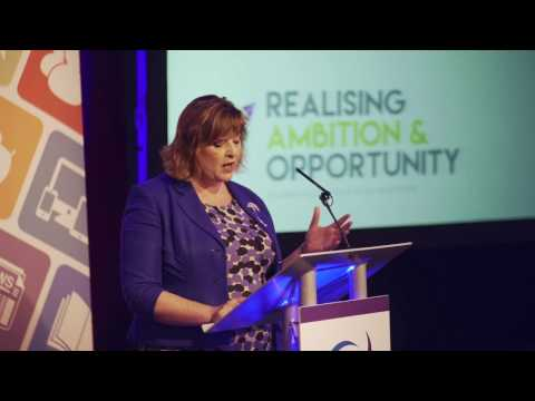 Fiona Hyslop MSP,  SLIC Ambition & Opportunity One Year On