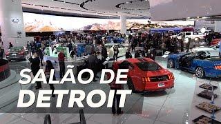 Os 5 principais lançamentos do Salão de Detroit!
