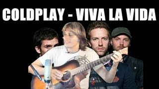 Coldplay - Viva la Vida [FINGERSTYLE GUITAR] Cover Acoustic Guitar solo