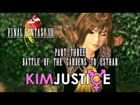 Final Fantasy VIII Review (PlayStation, PC) Part 3: Battle of the Gardens to Esthar - Kim Justice