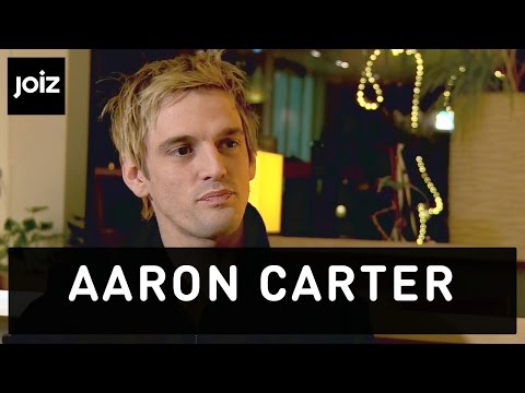 "Aaron Carter: ""I am not best friends with my brother Nick"" (1/5)"