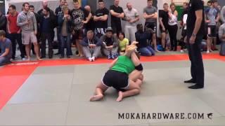 DGL 2 Runde S. Camille Johnston Rumble Sports vs Camilla Hinze Renegade MMA