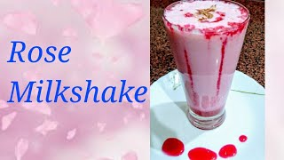 Rose Milkshake | summer special | by food and flavours