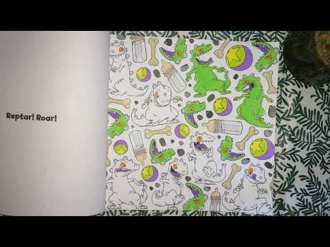Color With Me - Episode 64 - The Splat: Coloring The '90s (Nickelodeon) -  Time-Lapse - Prismacolor - YouTube