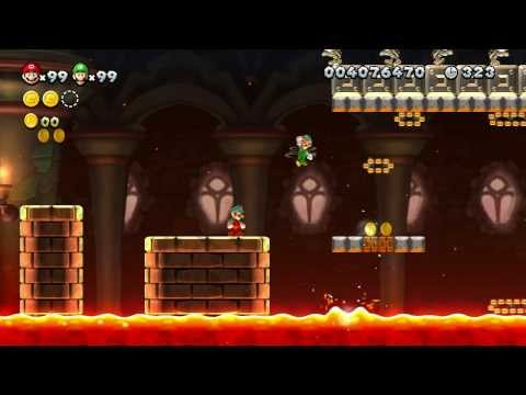 New Super Mario Bros U - 100% Walkthrough Co-op - Parte 14 di 22