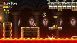 New Super Mario Bros U - 100% Walkthrough Co-op - Parte 14 di 22