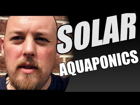 New 100% SOLAR IBC System online!!!! - Aquaponics