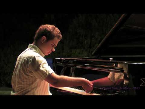 Poros Piano Academy 2013 - Improvisations - Angel Nikolov - Bulgaria