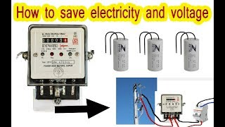 How to save electricity and voltage, Increase the voltage now in this way|||||