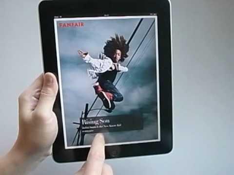 Vanity Fair Magazine iPad