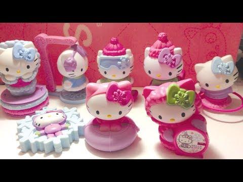 Hello Kitty Mcdonald S Toys : Hello kitty mcdonalds happy meal toys full set youtube