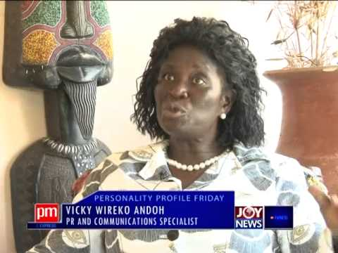 Vicky Wireko Andoh - Personality Profile Friday on Joy News (17-10-14)