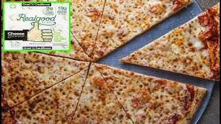 Frozen NO Dough 'REAL GOOD' Cheese Pizza - Low Carb High Fat Pizza - The Wolfe Pit