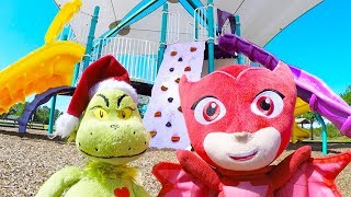 PJ Masks Owlette Playground Adventure with Surprise Egg Hunt