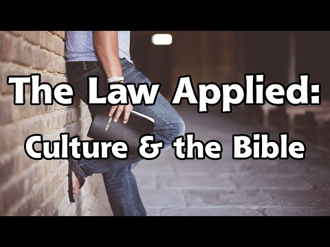 """""""The Law Applied: Culture and the Bible"""" - Ronald L. Dart"""