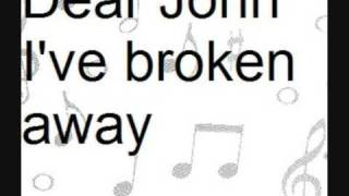 StatusQuo Dear john with lyrics