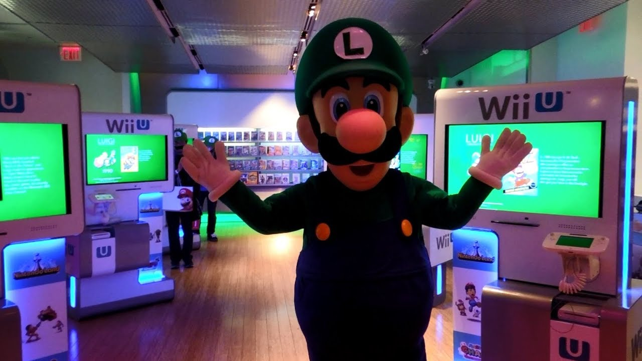 Luigi Does the Harlem Shake [Nintendo World Memories]
