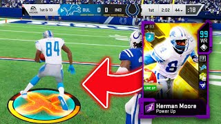 I TOOK 99 OVERALL HERMAN MOORE TO WEEKEND LEAGUE AND HE COULDNT BE STOPPED - Madden 20 Ultimate Team