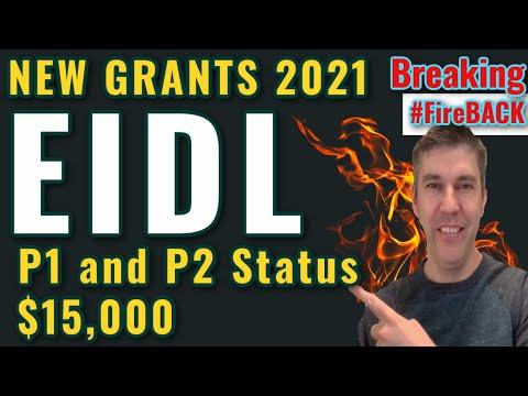 Breaking EIDL Loan Increase & Grants UPDATE - NEW 2021 Process $15,000 + P1 P2