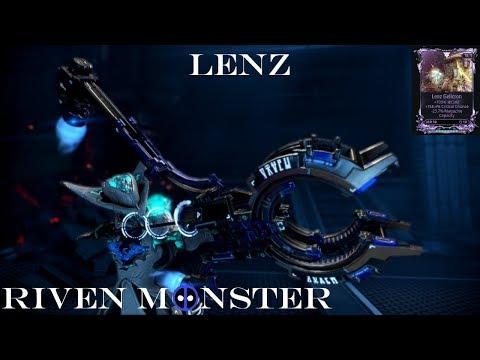 Lenz - Warframe Riven Monster. thumbnail