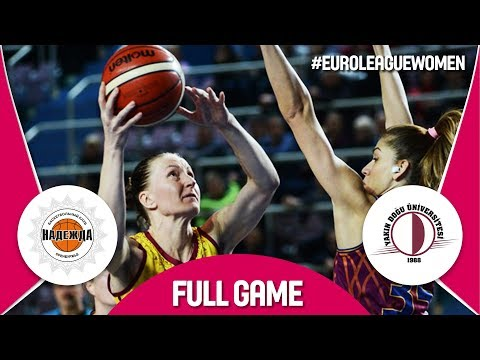 Nadezhda (RUS) v Yakin Dogu Universitesi (TUR) - Full Game - EuroLeague Women 2017-18