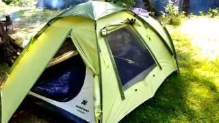 Обзор туристичиской палатки NORDWAY CADAQUES 3