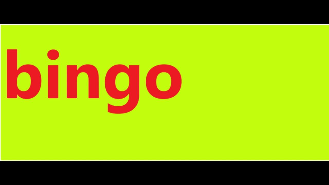Bingo Definition