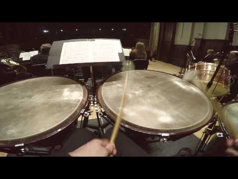 A Day in the life of the DSO Percussionists