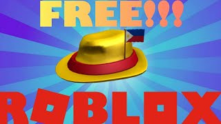 HOW TO GET THE INTERNATIONAL FEDORA - PHILIPPINES | Roblox Free Item