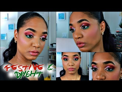 MEGA CHIT CHAT Get Ready With Me 💕 Colorful & Festive MAKEUP LOOK